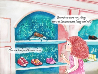 A PAGE FROM NEW SHOES FOR ADDIE
