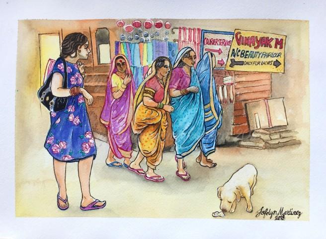 Ladies of Pushakar